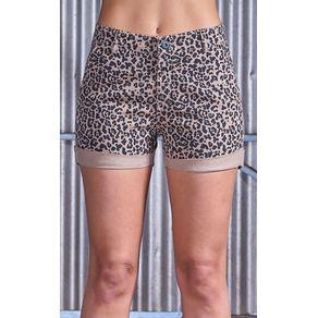 shortsfemininoanimalprint1